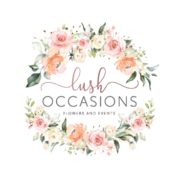 LUSH OCCASIONS ROUND CARD STICKER 5CM-01